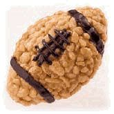 Mini Rice Krispie Footballs