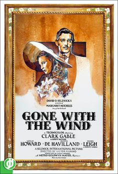 A World in Jidé-O-Vision David O Selznick, Victor Fleming, Metro Goldwyn Mayer, Clark Gable, Gone With The Wind, American Civil War, Short Film, Cool Pictures, Movie Posters