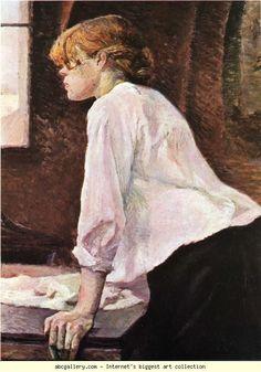 Henri de Toulouse-Lautrec. The Laundress. Olga's Gallery.