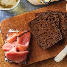 Westphalian Rye Bread: King Arthur Flour. Germany is known for its rye breads. Raisin rye represents the sweet end of the spectrum, while sour rye, made w/ a tart starter, will pucker your mouth like a dill pickle. Westphalia, a northwestern German state, is famous for both its unctuous, lightly smoked ham, & its dense, dark pumpernickel. Both are sliced ultra-thin, then served w/ one another in a perfect marriage of bread & meat. Accompanied by sweet butter, perhaps some smoked sausage, & a…
