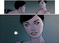Selina says yes to Bruce's proposal in Batman #32  I'm trying really hard to,contain my excitement in right now!!!!  #Batcat #Batman #Catwoman #Shesaidyes #DCcomics