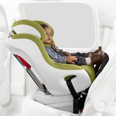 Clek Foonf Convertible Child Car Seat / The Clek Foonf Convertible Child Car Seat lets you take babies along for the ride in absolute safety and comfort, but with no hassle for parents. http://thegadgetflow.com/portfolio/clek-foonf-convertible-child-car-seat/
