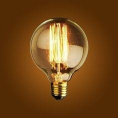 Lampadina-Edison-40W-GLOBO-Lampade-Vintage-Lampade-Design
