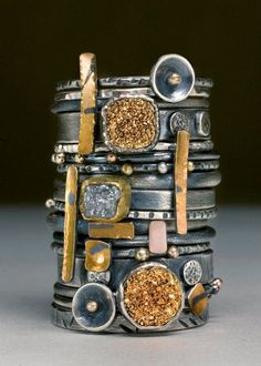 Gorgeous Stack rings by Hammered By Wendy