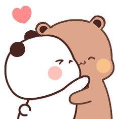 Cute Anime Cat, Cute Bunny Cartoon, Chibi Cat, Cute Chibi, Panda Wallpapers, Cute Cartoon Wallpapers, Bear Gif, Cute Bear Drawings, Cute Panda Wallpaper