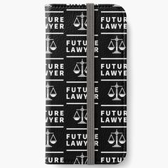 'Future Lawyer - student of law school' iPhone Wallet by RIVEofficial Law School, Iphone Wallet, Lawyer, Custom Design, Student, Trends, Future, Accessories, Shopping