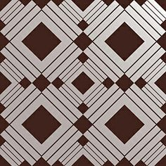 A temporary and repositionable wall covering by TEMPAPER (great for rentals or store displays)  - Chocolate (DIAMOND)