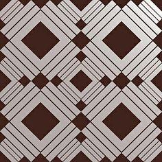 Tempaper Designs Diamond Temporary Wallpaper - Chocolate