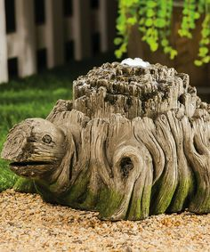 Love this Woodland Turtle Fountain by Evergreen on #zulily! #zulilyfinds