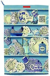 Tea Towel Sanderson - Nieuw! - Pine-apple - Importeur Emma Bridgewater