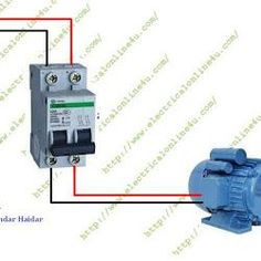 The complete guide of single phase motor wiring with circuit breaker and contactor diagram.