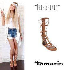 Πέδιλο Tamaris 49 euro στο www.avvento-shoes.gr Free Spirit, Euro, Shoes, Zapatos, Shoes Outlet, Footwear, Shoe