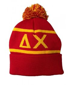 75fb328efd37b Delta Chi Fraternity Letter Winter Beanie Hat Greek Cold Weather Winter  Officially Licensed CR11Q0VY2BD