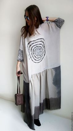 ideas fashion autumn boho for 2019 Look Fashion, Autumn Fashion, Womens Fashion, Fashion Design, Look Boho, Bohemian Style, Elisa Cavaletti, Mein Style, Linen Dresses