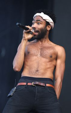 Gambino Girl Forever - Childish Gambino on stage (Donald Glover)