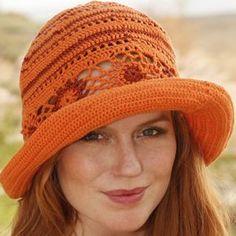 Oranje boven hoed patroon