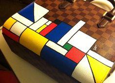 Distorting Mr. Mondrian on Behance