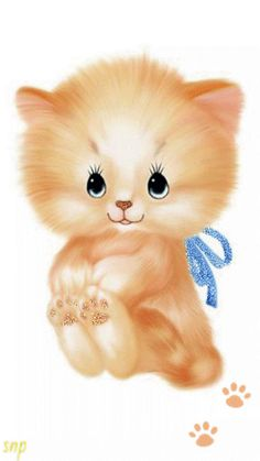 cat_2ntJH9EQ.gif 346×615 pixels Cute Animal Drawings, Cute Drawings, I Love Cats, Cute Cats, Kitten Cartoon, Cat Clipart, Kitten Images, Cute Gif, Whimsical Art
