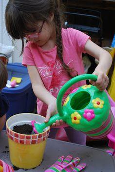 Starting a Garden with Kids #activity #garden