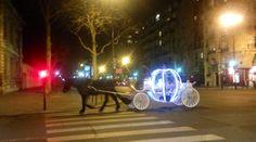 Carrosse de cendrillon dans Paris
