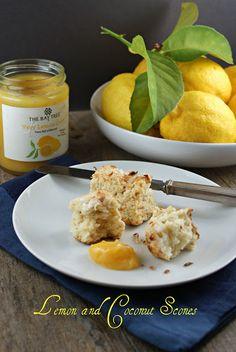 Lemon Coconut Scones   Authentic Suburban Gourmet
