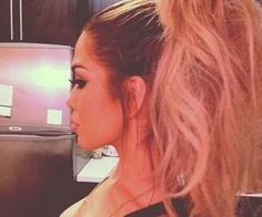 #bigponytail #volume