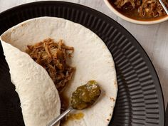 Slow-Braised Pork Shoulder with Tomatillo Salsa