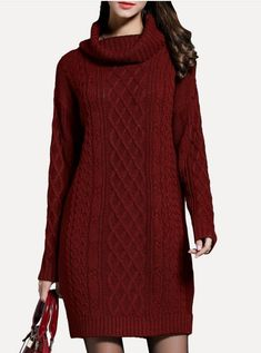 Woolen Clothes, Sweaters, Dresses, Fashion, Vestidos, Moda, Fashion Styles, Pullover, Dress