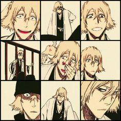 "When Kisuke was first introduced in the manga I thought he was there to screw up everything but then when Ichigo knocked his hat off and showed his face I thought ""Nah he's too cute screw up."""