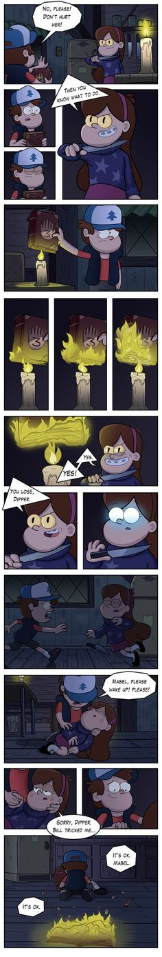Dipper would by markmak on deviantART omg!!! had to read this over and over again!