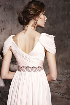 Evening Dress Patterns, Pink Evening Dress, Evening Dresses With Sleeves, Indian Gowns Dresses, Indian Fashion Dresses, Sexy Dresses, Evening Gowns, Nice Dresses, Dresses 2014
