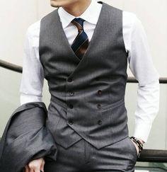 3 piece suit & tie