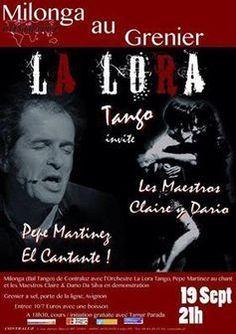 Avignon: Milonga en La Lora Tango
