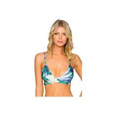 Women's Sunsets Wrap Top - Retreat Separates ($64) ❤ liked on Polyvore featuring swimwear, bikinis, bikini tops, strap bikini, sunsets swimwear, strappy swimwear, strappy bikini and strappy bikini top