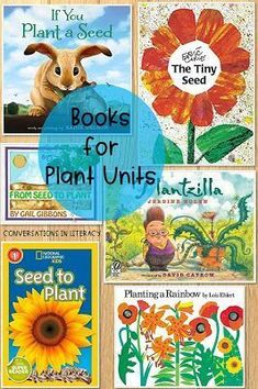 Books for your Plant Unit and Plant Activities in the Classroom- Flipping for Plants Life Cycle and Parts of a Plant Flip Book. Kindergarten, first grade, second grade, third grade.