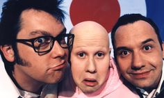 Vic Reeves and Bob Mortimer: 'It's really a music hall act that we do'
