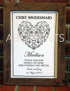 Bridesmaid #gifts, mother of the #bride groom, personalised #thank you wedding gi,  View more on the LINK: http://www.zeppy.io/product/gb/2/301697122639/