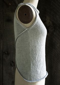 Laura's Loop: Tulip TankTop - The Purl Bee - Knitting Crochet Sewing Embroidery Crafts Patterns and Ideas!