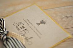Toast & Laurel invitation