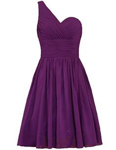 Cdress Short Chiffon One Shoulder Bridesmaid Prom Dresses... http://www.amazon.com/dp/B01E5EQFKU/ref=cm_sw_r_pi_dp_vwwrxb0JDAN3H