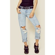 One Teaspoon Romance Awesome Baggies ($138) ❤ liked on Polyvore featuring jeans, boyfriend jean, jean, pant, ripped jean, blue, baggy boyfriend jeans, distressed boyfriend jeans, cuffed jeans and relaxed boyfriend jeans