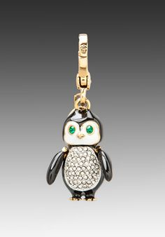 Juicy Couture Limited Edition Penguin Charm in Gold