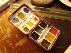 Minipalette acquerelli Zecchi al miele