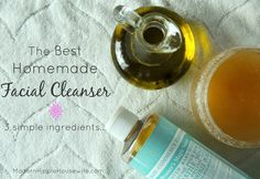 Homemade Facial Cleanser with Avocado Oil & Honey - Modern Hippie Housewife