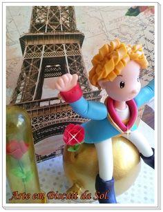 Pequeno Príncipe Topo de Bolo. Orçamento: solangecometti@terra.com.br