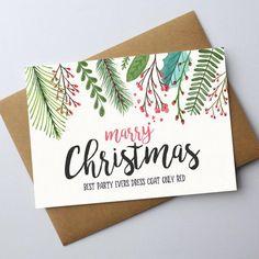 Christmas Cards Drawing, Painted Christmas Cards, Watercolor Christmas Cards, Diy Christmas Cards, Xmas Cards, Christmas Art, Holiday Crafts, Christmas Invitation Card, Natal Diy