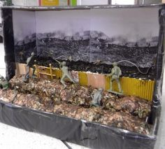 Year 9 Easington School WW1 Shoebox