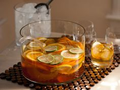 White Sangria : Sangria is as festive a summer drink as they come. Careful, white sangria tastes fruity but it packs a big punch.