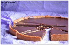 Tarte au caramel au beurre salé chocolaté