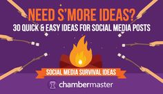 [INFOGRAPHIC] 30 Social Media Post Ideas for Your Chamber of Commerce.